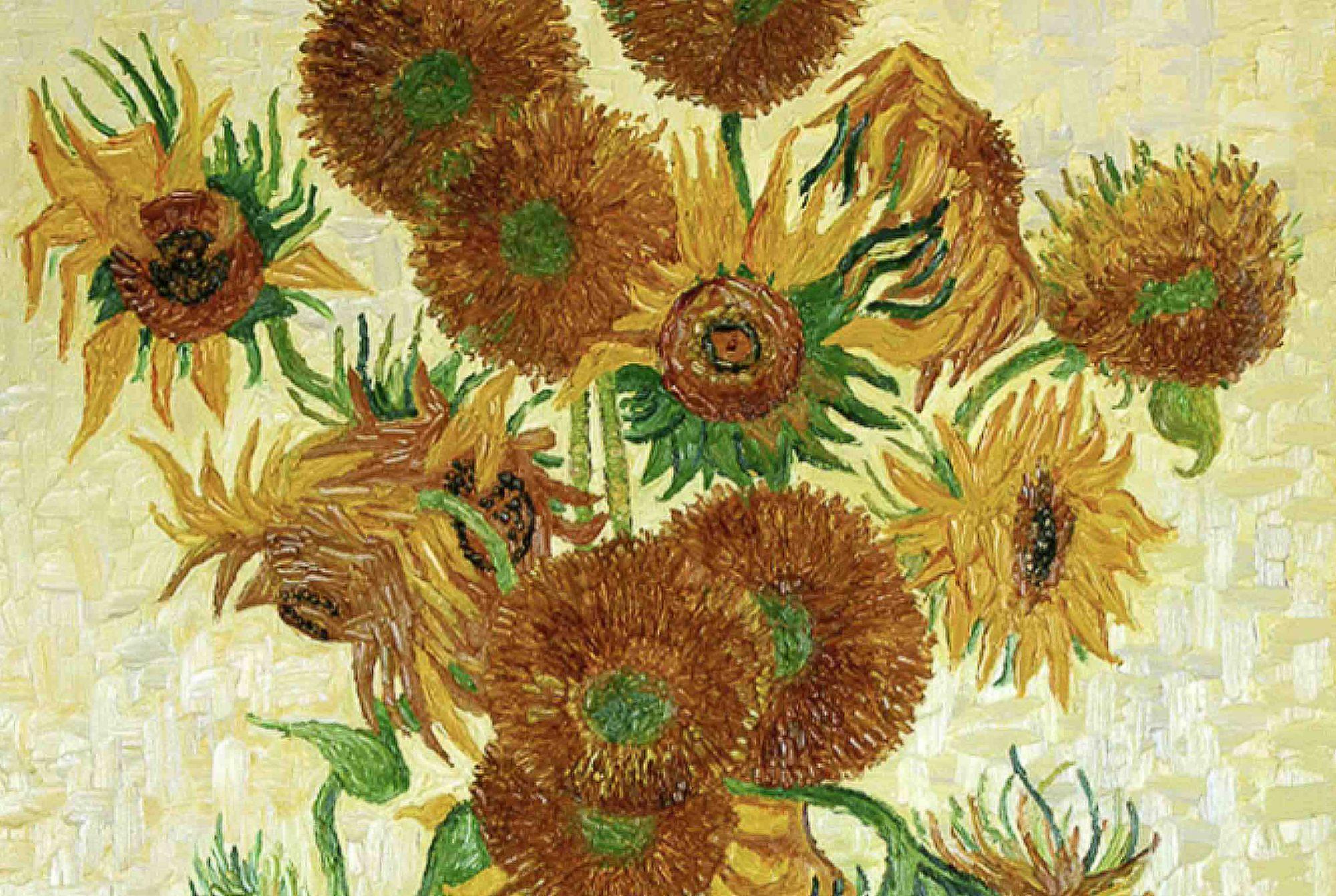 Van Gogh Bloemen In Vaas